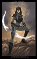 $10Comission:GRAY HUNTRESS by johnbecaro