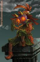 Skull Kid Fanart Ending Anime by Asten-94