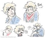 Uhh Mouson Sketches? by Hasana-chan