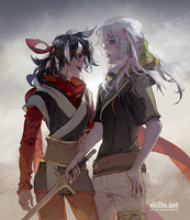 Skip the formalities - quick drawing for patreon by shilin