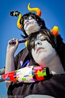 Homestuck ~Karkat and Gamzee~ by NekoHibaPC