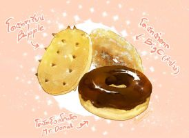 My donut love by Enissaceb