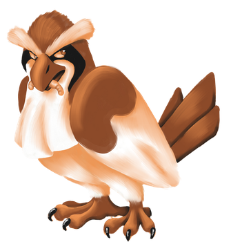 Pidgey by Sceptagon