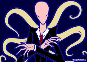 -slenderman A by bigkrocks