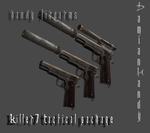 Killer7 Tactical Package by DamianHandy