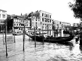 venice gran canal by ulfsson