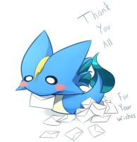 THANK YOU ALL by ZymonasYH