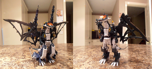 Zoids - HMM Pteras Bomber Custom by IrishWolven