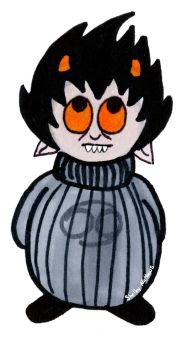 Round Karkat by Xeybhls