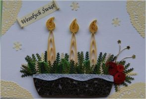 Quilling - Card 37 by Eti-chan