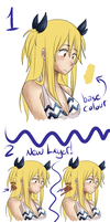 Hair coloring Tuto -new- by xXDoodle-PupXx