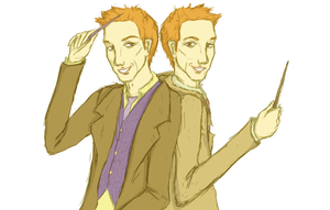 The Weasley Twins by jeni-stark
