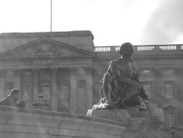 Buckingham palace Sculpture by Nimpscher