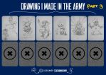 Drawing I Made In The Army Part 3 by SherifNagy
