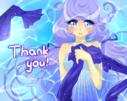 THANK YOU FOR +700 WATCHERS by Mehlyna