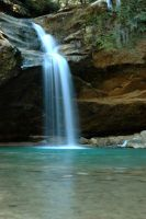 Falls at Old Man's Cave by Metallifreaknate