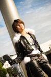 FF Dissidia: Squall by christie-cosplay