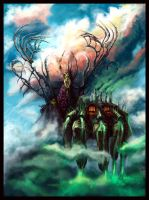 Poisoned clouds by Sergon