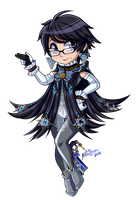 Bayonetta Chibi (May Stream Giveaway) by Pixilette-Star