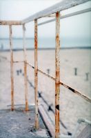 rusting by the sea by sharktooth