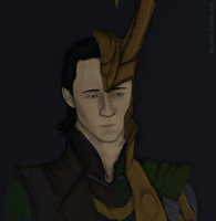 Another Loki portrait by GoreChick