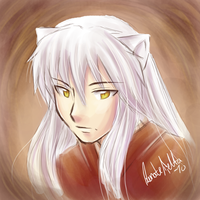 Inuyasha for Bry by nor-renee