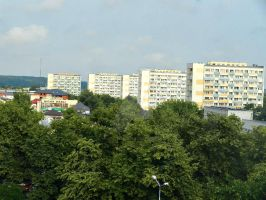 Buildings in Pulawy by Apoloelmaschulo