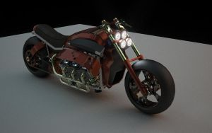 turbine motorcycle by ImperialSeu