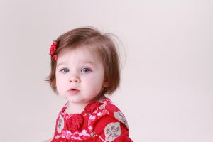 Baby Close-up Portrait by JdawnArt