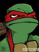 Raph sketchcard +colours by CatByrne
