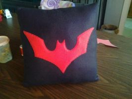 Batman Beyond Pillow by CynicalSniper
