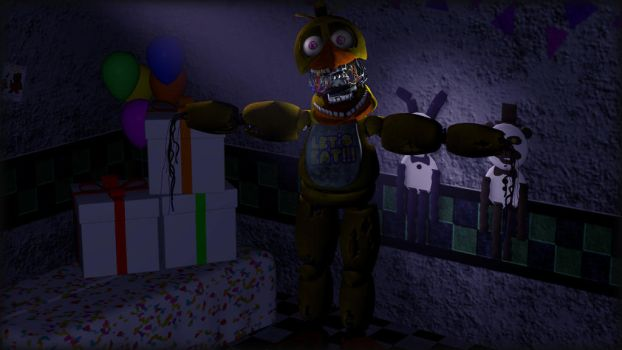 Nat the black cat 2 5 headshots 25 withered chica
