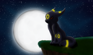 Jus' another Umbreon by valgal3000
