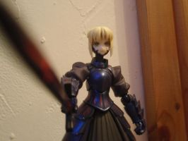 Saber Alter from FateStayNight by AigisNoir