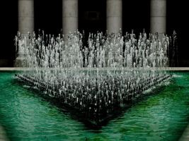 Green Fountain by d3usm4ximus