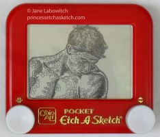 Etch a man by pikajane
