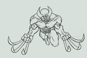 Wolverine---2 by PastyWhite