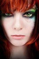 Fashion Retouch Red Head by pripyat1986