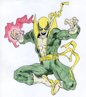 Iron Fist by TheAbilityToSpeak