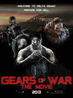 Gears of War movie poster by steemedrice
