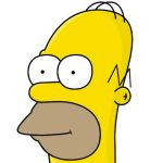 Homer Simpson by xxjul1anxx