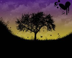 Vector Dusk by alekSparx