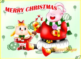 A Sweet Christmas by Pascua-Tanya