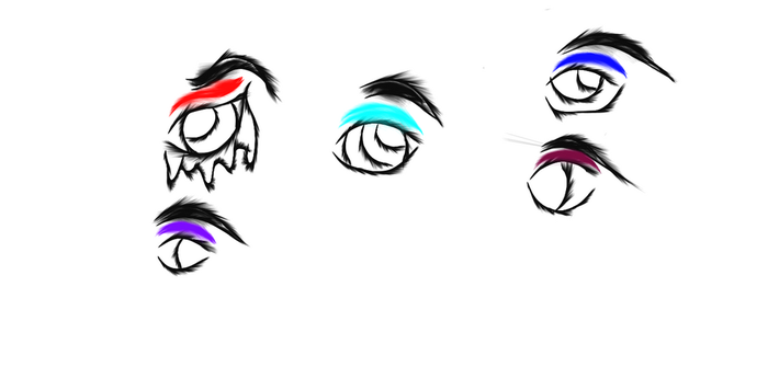 Eye practice is paying off ^^ by dj2k17