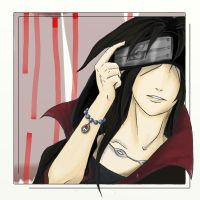Itachi, smile by Little-Voices