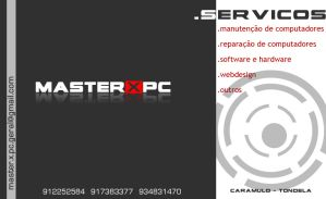 MASTERXPC business card by LightDesgins