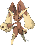 Lopunny by Xous54