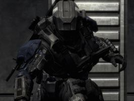 Halo Reach: monster by purpledragon104