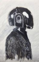 Daft Punk by radioactivemoos