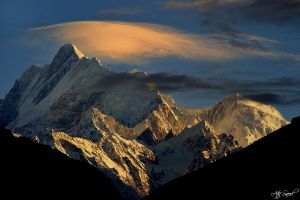 Mount Haramosh 7409m.. by M-Atif-Saeed